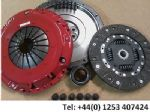 VW PASSAT 1.9 TDI 2005-2008 SINGLE MASS FLYWHEEL & CARBON KEVLAR CLUTCH